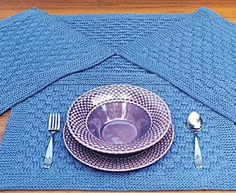 Crochet Rectangle Placemat Patterns