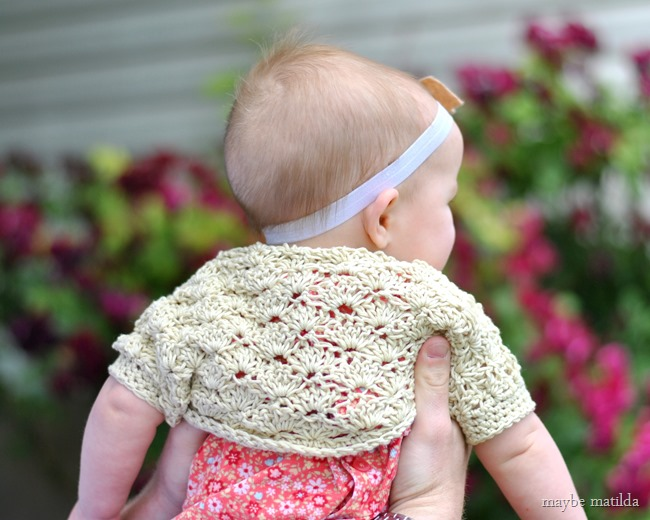 Free Baby Crochet Pattern Dress And Bolero : 13 Ideas to Crochet Shrug Patterns For Various Purposes ...