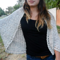 cotton crochet shrug cardigan pattern