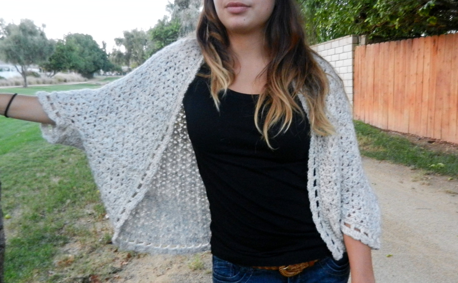 13 Ideas to Crochet Shrug Patterns For Various Purposes - Patterns Hub