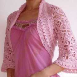 tunisian crochet shrug patterns