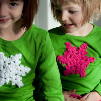 crochet snowflake sweater pattern