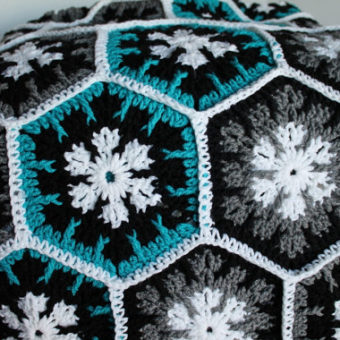 Crochet Snowflake Hexagon Pattern