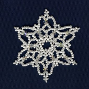 crochet snowflake patterns with pictures