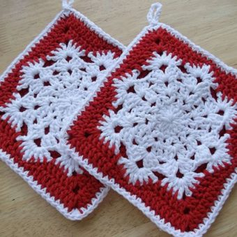 easy snowflake patterns to crochet