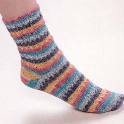 crochet sock heel tutorial