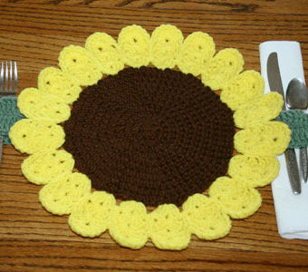 simple crochet placemat patterns