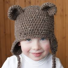 free crochet teddy bear beanie pattern