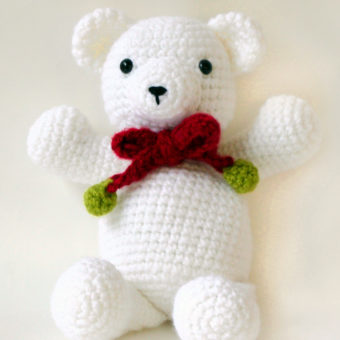 crochet teddy bear pattern beginners