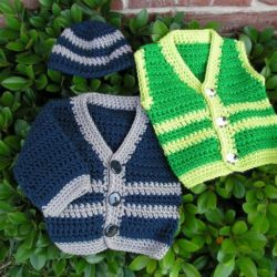 crochet vest patterns free