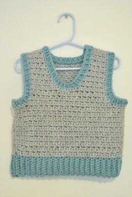 Crochet Patterns For Childrens Vests : 32 Free Crochet Vest Patterns for Beginners - Patterns Hub