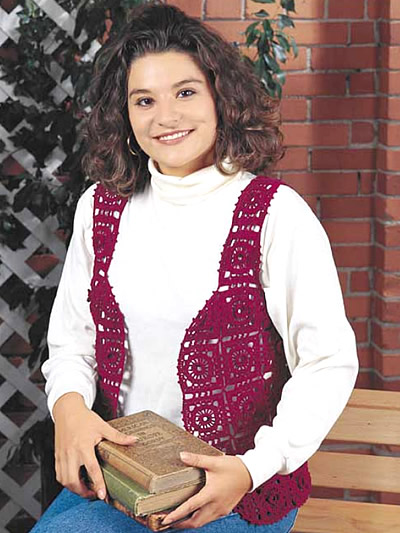 32 Free Crochet Vest Patterns For Beginners Patterns Hub