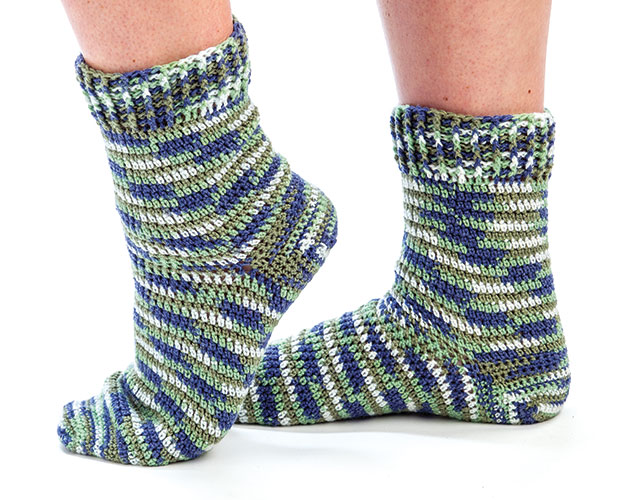 30 Creative Crochet Sock Patterns ? Patterns Hub