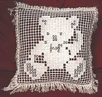 filet crochet teddy bear afghan pattern