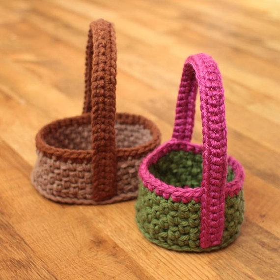 26 Crochet Basket Patterns For Beginners Patterns Hub
