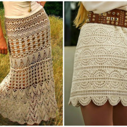 free crochet skirt patterns for adults