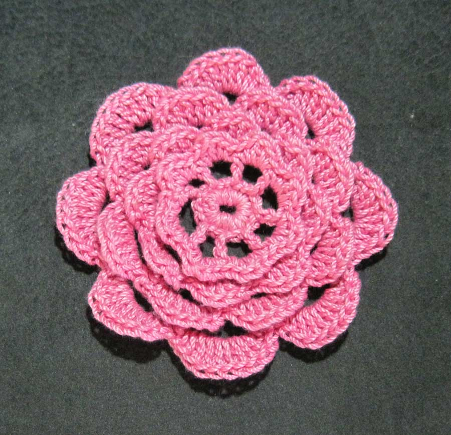 Crochet A Rose Flower 33 Inspiring Patterns Patterns Hub