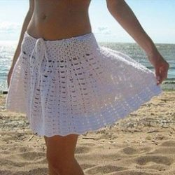 pattern crochet beach dress