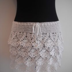 Pattern Crochet Lace Skirt