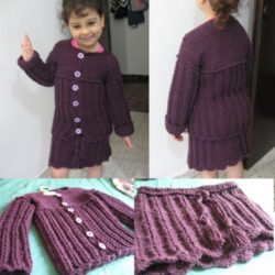 free pattern for crochet baby skirt