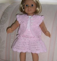 pattern for crochet doll dress