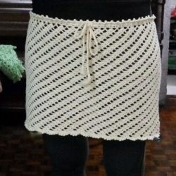 Pattern For Crochet Mini Skirt