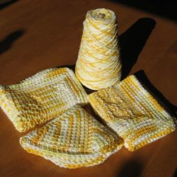 Peaches and CremeCrochet Dishcloth Patterns
