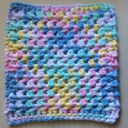 simple crochet dishcloth patterns