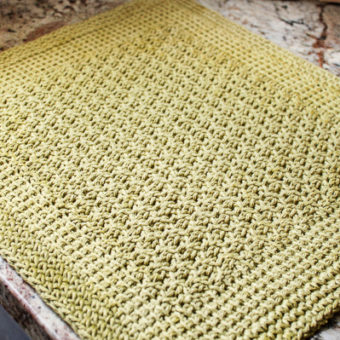 free tunisian crochet placemat patterns
