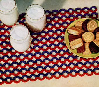 free vintage crochet placemat patterns