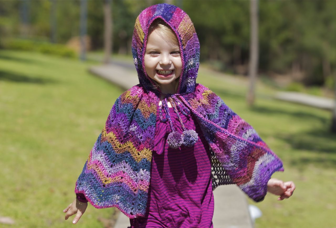 37 creative crochet poncho patterns for you patterns hub crochet poncho patterns for free childrens bankloansurffo Choice Image
