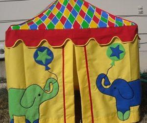 Circus DIY Teepee