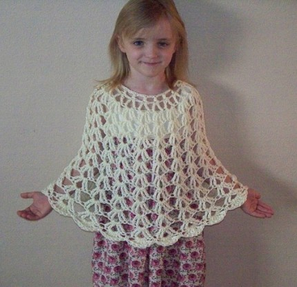 Free Pattern Crochet Childs Poncho : 37 Creative Crochet Poncho Patterns For You - Patterns Hub