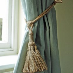 Curtain Tie Back Out Of Jute