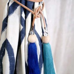 Rope Tassel Curtain Tie Back