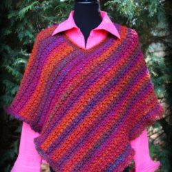 beautiful crochet poncho patterns