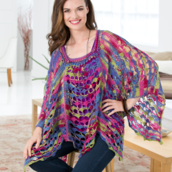 free crochet poncho patterns for ladies