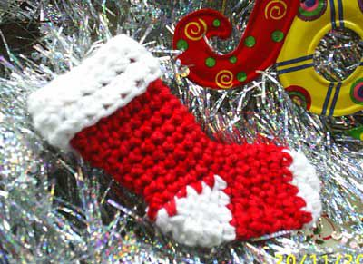 Free Crochet Pattern Christmas : 40 All Free Crochet Christmas Stocking Patterns ? Patterns Hub