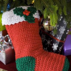 crochet christmas stockings patterns