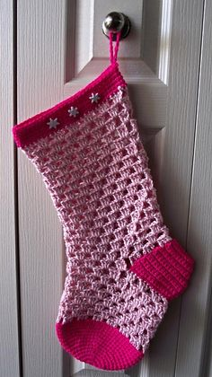 40 All Free Crochet Christmas Stocking Patterns ? Patterns Hub