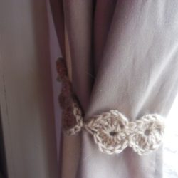Handmade Curtain Tie Back