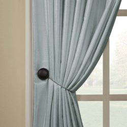 diy metal curtain tie backs