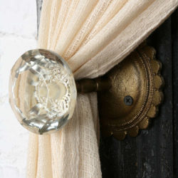 Glass Curtain Tie Back