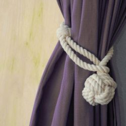 Nautical Curtain Tie Back