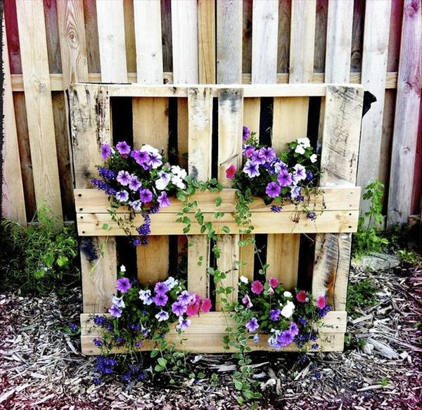 Diy Flower Gardening Ideas And Planter Projects: How To Make A Wood Pallet Planter?