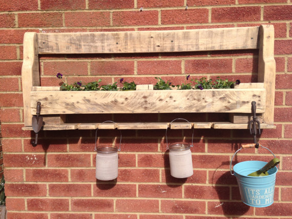 Herb Planter Box Outdoor: How To Make A Wood Pallet Planter?