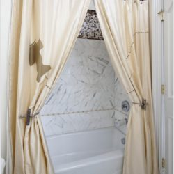 Tie Back for Shower Curtain