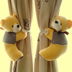 Teddy Bear Curtain Tie Back
