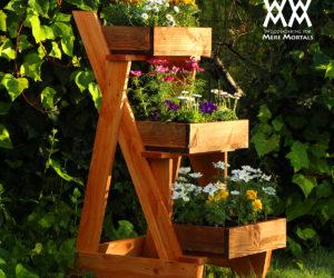 Succulent Vertical Pallet Planter