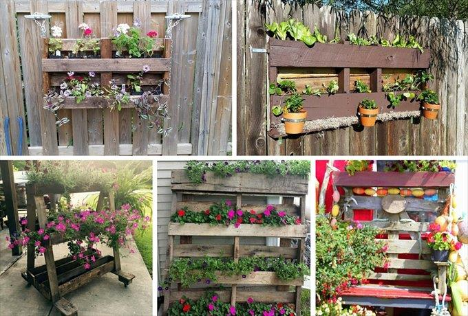 How To Make A Wood Pallet Planter 42 Diy Ideas Patterns Hub